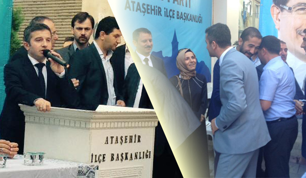 Naim Yağcı, AK Parti Ataşehir İlçe Başkanlığı'nda bayramlaşma