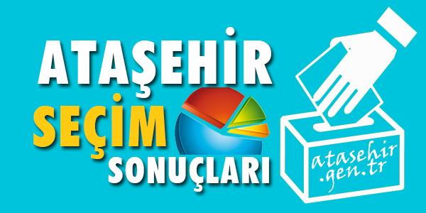 Ataşehir yerel genel seçim sonuçları oy oranları atasehir.gen.tr