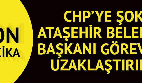 Ataşehir Belediye Başkanı Battal İlgezdi görevden alındı