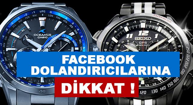Facebook reklamları ile Seiko, Oceanus markası ile dolandırıyorlar