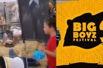 Big Boyz Festival'inde AYDOFF ve TEXXOFF stant aracı insanları ezdi